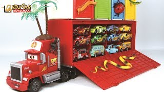 Learning Color Special Disney Pixar Cars Lightning McQueen Mack Truck play set for kids car toys