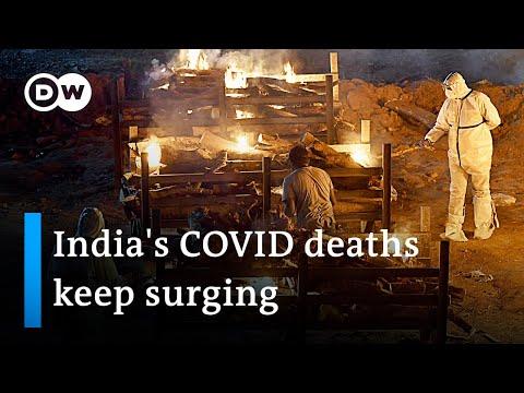 Volunteers provide last resort help in India | DW News