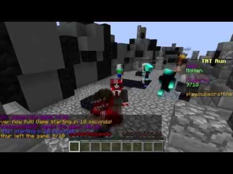 La peror partida de TNT RUN (TE ODIO TNT RUN) Minecraft