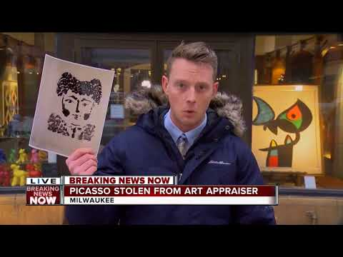Picasso art work, worth up to $50,000, stolen from downtown Milwaukee art dealer