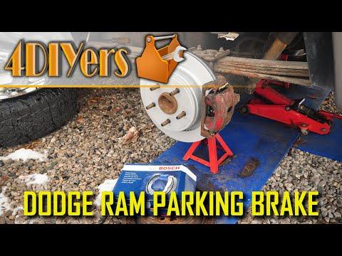 DIY: Dodge Ram 1500 Parking Brake Replacement and Adjustment