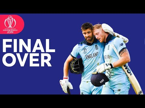 Ben Stokes dominates the Final over of England's inning in ICC Cricket World Cup 2019