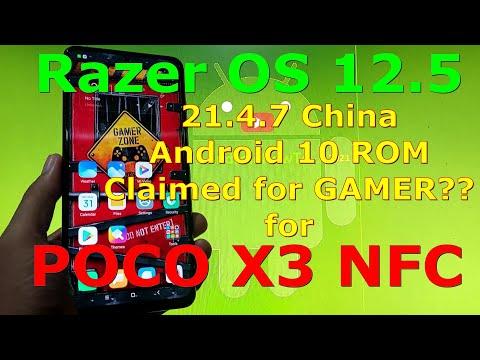 Razer OS 12.5 21.4.7 China for Poco X3 NFC Android 10