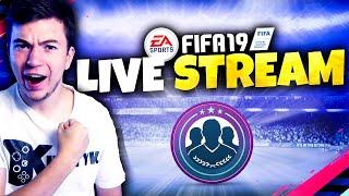 ???? Rozdajemy COINSY i zdobywamy ikonę! | FIFA 19 Live - Na żywo