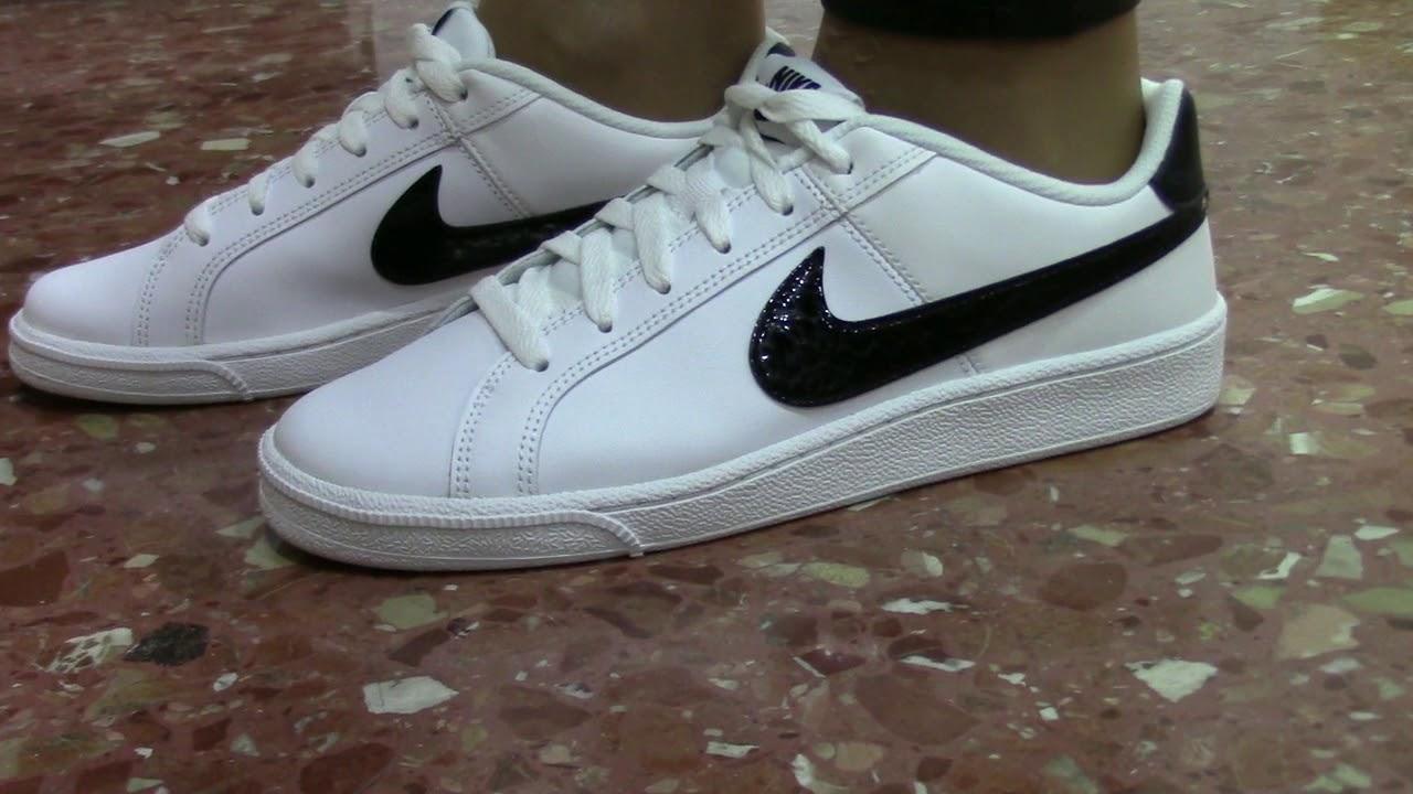 Nike Court Royale Mujer Blanca Negra Gris Tienda Court Valencia Youtube