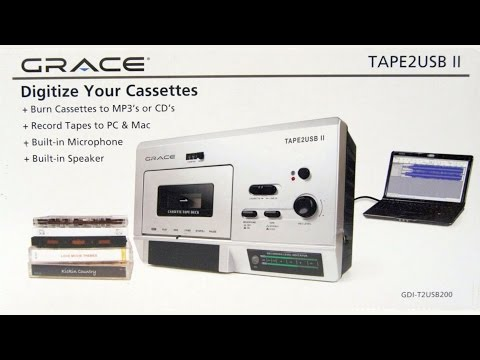 A cheap USB cassette deck that actually sounds good!