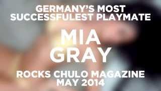 Mia Gray Rocks Chulo Magazine's May Issue!
