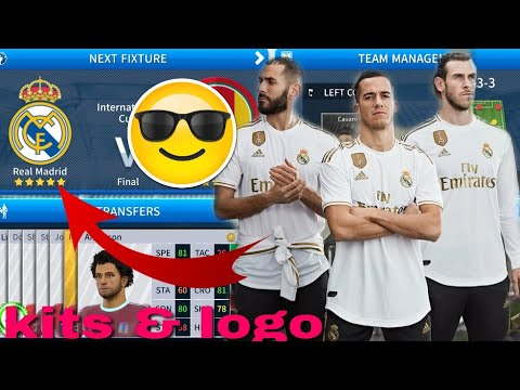 How To Create Or Make Real Madrid Team Kits & Logo Players in Dream League Soccer 2018 Full Tutorial.