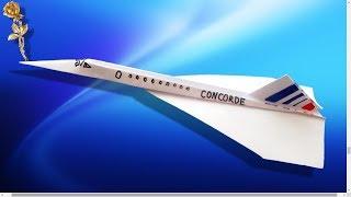 Origami : ✈️Avion Concorde