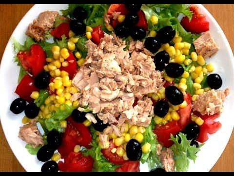 Салат с тунцом, рецепты с фото на : 169