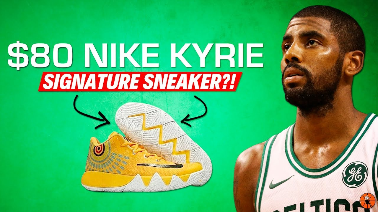 KYRIE IRVING GETTING AN $80 NIKE SHOE?!