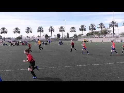 Santa Monica AYSO Playoffs 2015 Fire Vikings vs Fire Bolts 12-06-2015