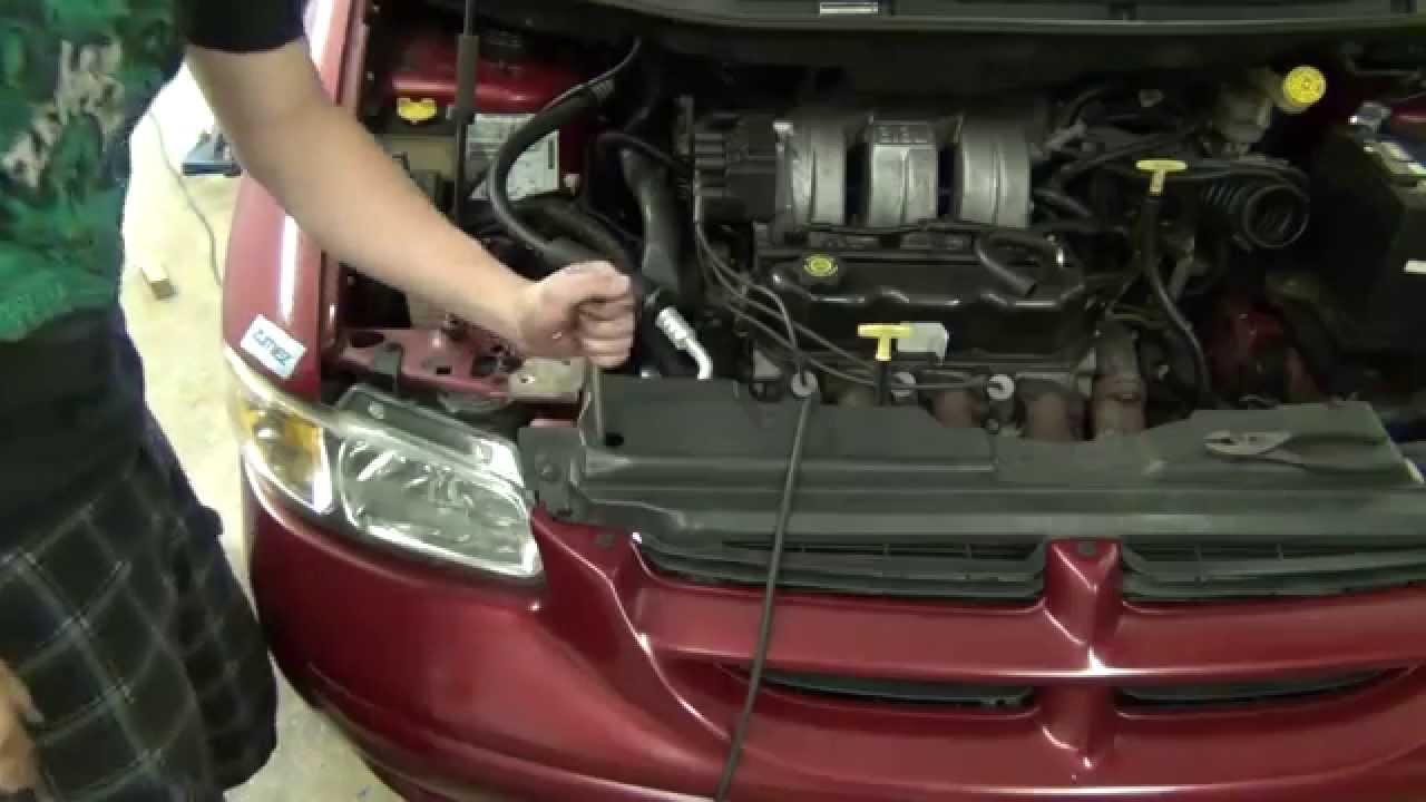 Replacing My A C System 1998 Dodge Grand Caravan Youtube