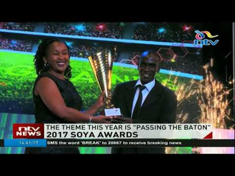 Kenyan sports personalities feted at the 2017 SOYA Awards