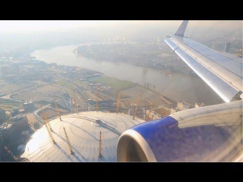 (4K) BA CityFlyer Embraer E170 | Amsterdam Schiphol to London City | Club Europe Flight Video