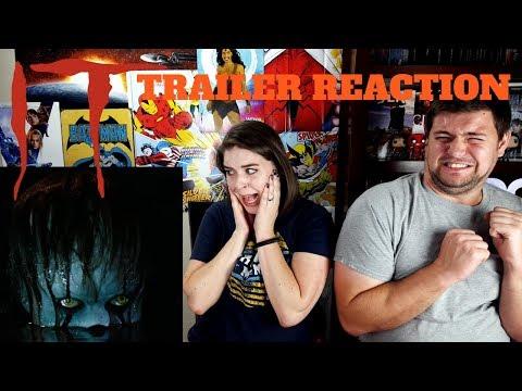 TERRIFYING - IT Trailer Reaction