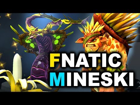 FNATIC vs MINESKI - YOLO MID! - SEA ESL MAJOR DOTA 2