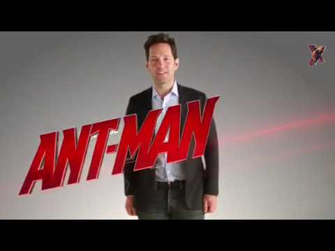 Paul Rudd and Evangeline Lilly set viedo of Ant man and Wasp with lot of funny moment