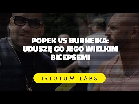 🔥🔥🔥 KSW 39 Popek vs Burneika: Uduszę go jego wielkim bicepsem - Wywiad Iridium Labs