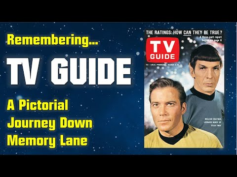 Remembering TV Guide - A Journey Down Memory Lane