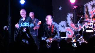 """ BOOGIE WOOGIE COUNTRY GIRL"" CRAZY CAVAN AND THE RHYTHM ROCKERS SCREAMING 2014-06-07 CALELLA"