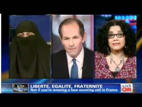 CNN: French Niqab Ban Debate between Hebah Ahmed and Mona Eltahawy