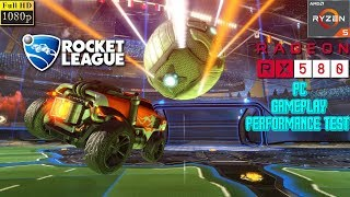 Rocket League PC Gameplay Performance Test - Ryzen 5 1400 + RX 580 4GB