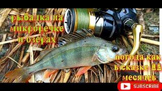 Рыбалка на микроречке и озерах погода как в сказке 12 месяцев
