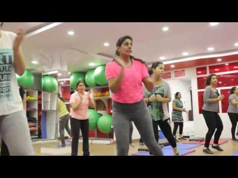fitness session at her Fitness Rajouri Garden - Weighl Loss with fun