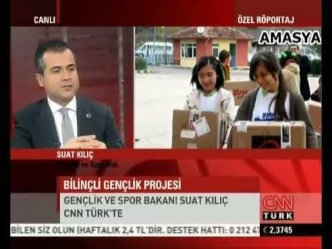 """Suat Kılıç, Kerem Hasanoğlu, """"Türkiye Bilinçli Gençlik Projesi"""""""