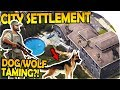 CITY SETTLEMENT BASE - DOG / WOLF TAMING + Base Fortifying - Last Day On Earth Survival 1.5.5 Update