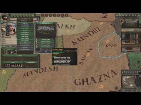 Crusader Kings 2 Ironman Timelapse, From Duke of Zunbil to Emperor of the Sun (Zunist Run) 2/7