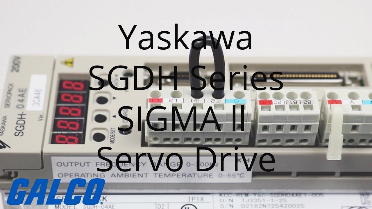 Yaskawa SGDH Series SIGMA ll Servo Drive