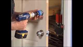 How To Install A Door Lock - Diy At Bunnings