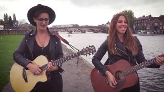 The Roaming Revels - Shape of You -Ed Sheeran Acoustic Cover by Steph Willis UK and Laura Williams
