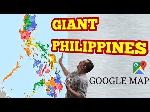 The Giant Philippine Map - Amazing New Discovery
