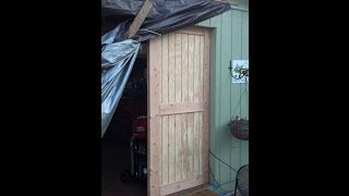 Building Barn Rolling Doors - Part 1