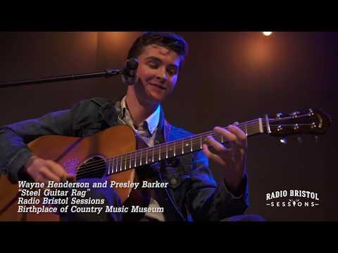 "Wayne Henderson and Presley Barker - ""Steel Guitar Rag"" - Radio Bristol Sessions"