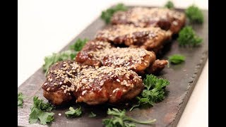 Sesame Crusted Chinese Chicken  Sanjeev Kapoor Khazana