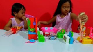 Mainan Rumah Boneka  🏠 Barbie 👸 Mainan Anak Perempuan 💖  Jessica & Jenica 💖