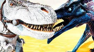 Тираннозавры Против Виверн - ARK Survival Выжженные Земли #15