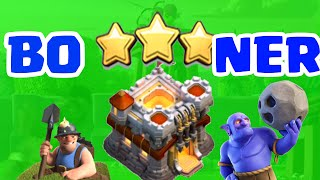 3 STAR ANY RING TH11 BASE (Boner Strategy) - Clash of Clans