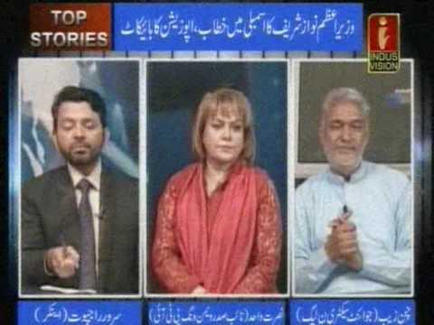 TOP STORIES with Sarwar Rajput Guest Nusrat wahid(PTI)chan zeb(PMLN)