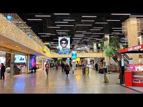 Schiphol Amsterdam Airport Walking Tour