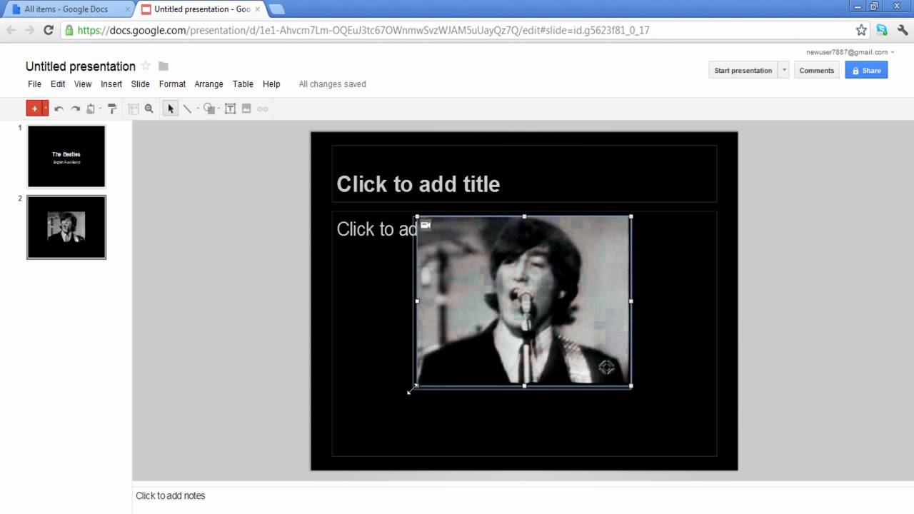 How to link online videos in powerpoint presentations using Google ...