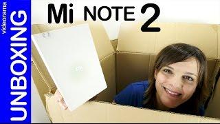 Xiaomi Mi Note 2 unboxing y primeras impresiones