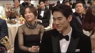 311216 Master of Kiss Seo Hyun Jin @SBS Drama Awards 2016
