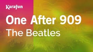 One After 909 - The Beatles | Karaoke Version | KaraFun