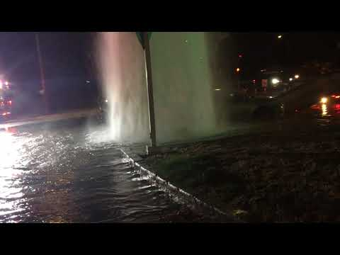 Car Accident   Hit on Fire Pole  Fremont California near Shell