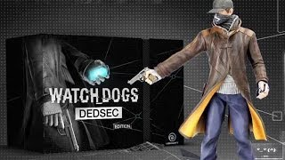 Watch Dogs Dedsec Edition unboxing PC